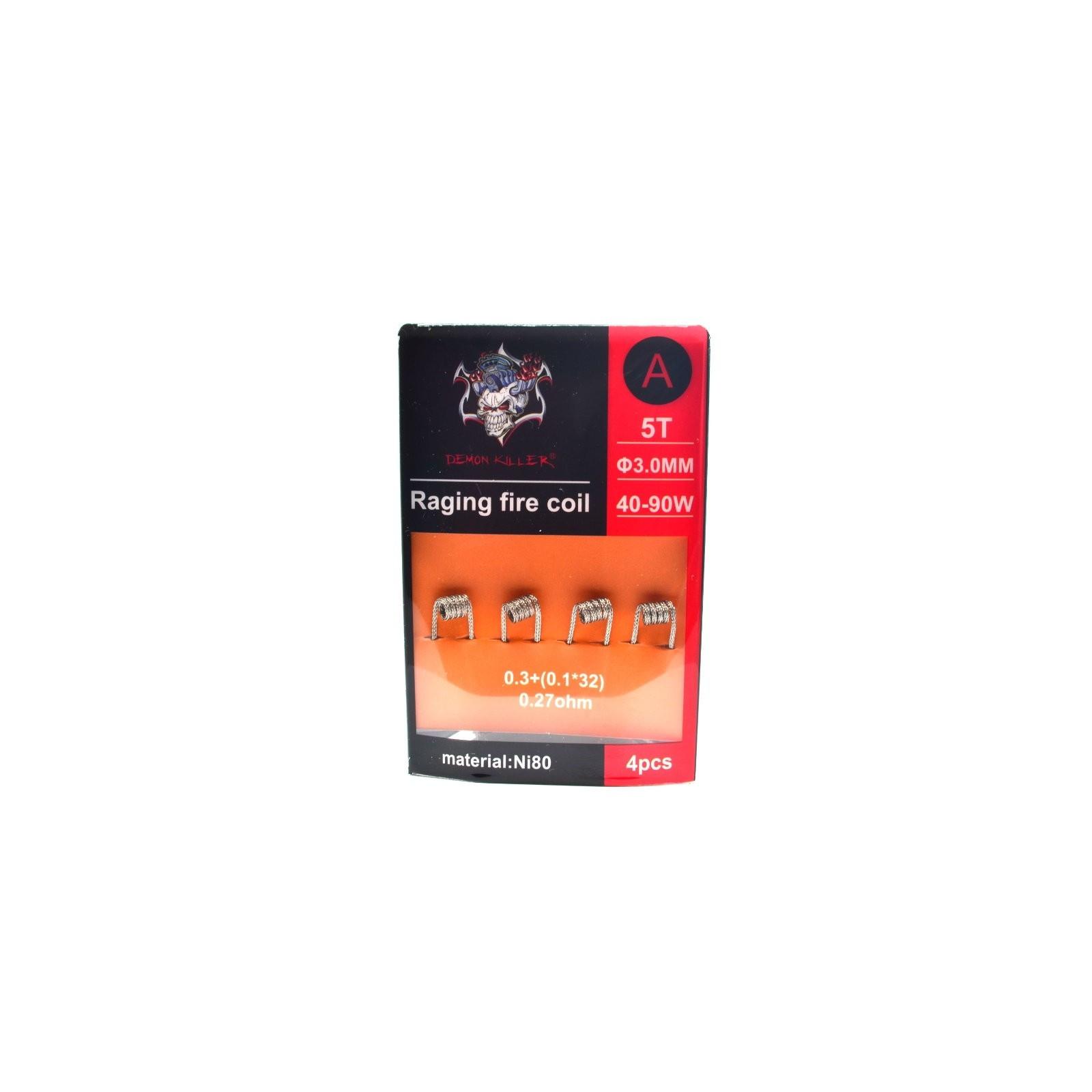 RAGING FIRE COIL Ni80 - DEMON KILLER