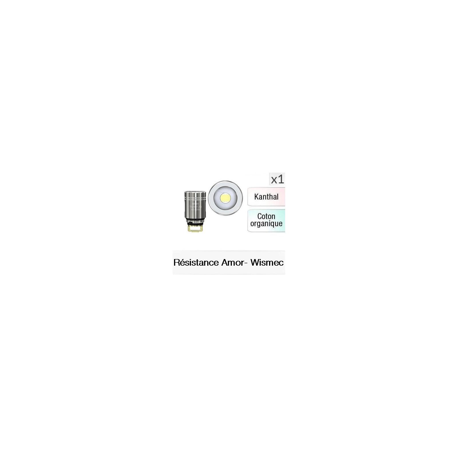 Résistance Amor NS - Wismec