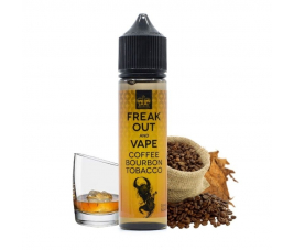 Coffee Bourbon Tobacco 50ml - Freak Out and Vape