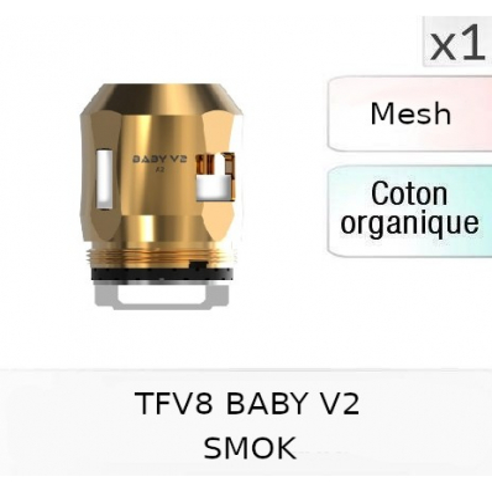 Résistance TFV8 V2 A2 - SMOK