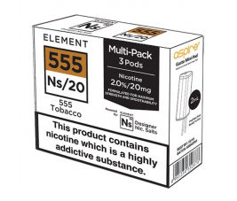 Pod Gusto NS Element – 555 Tobacco