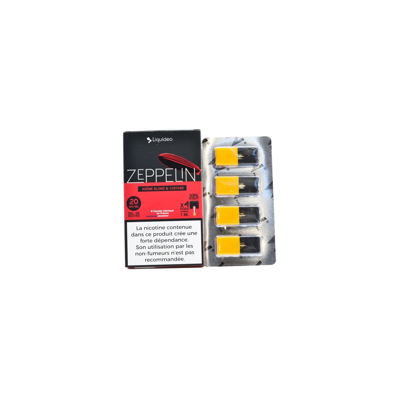 Cartouche Zeppelin Liquideo - W Pod