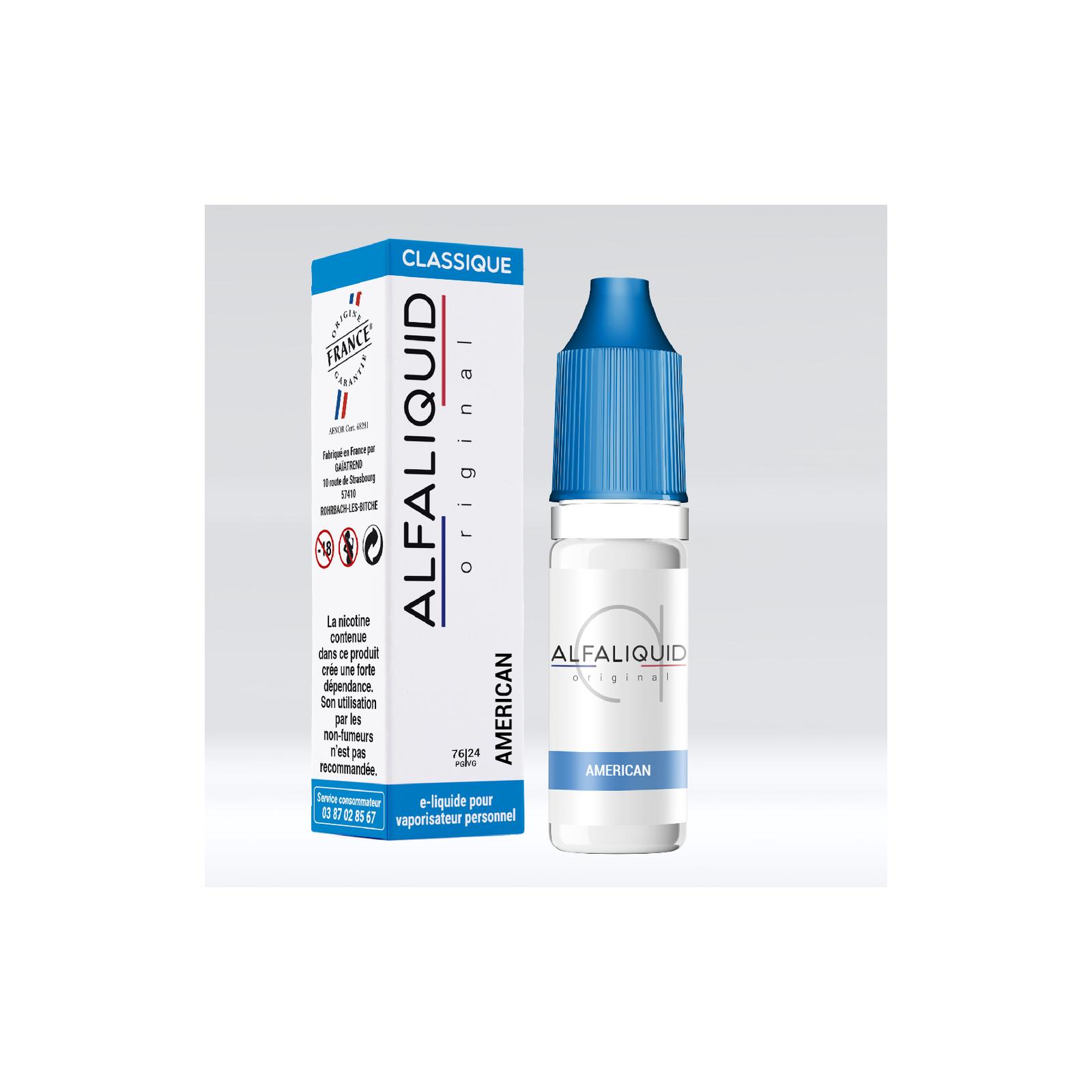 Américain - Alfaliquid