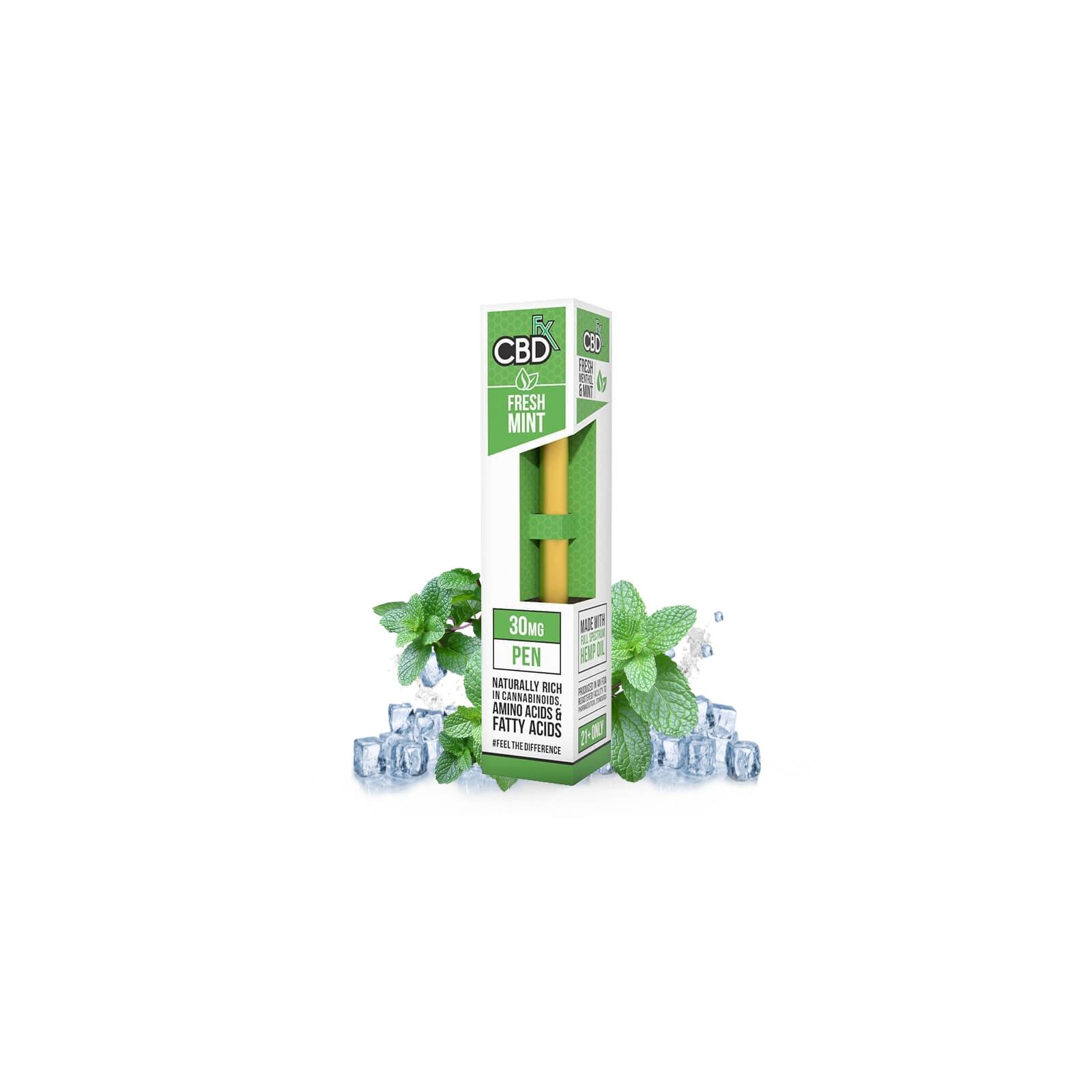 CBD Vape Pen Fresh Menthol & Mint - CBDfx