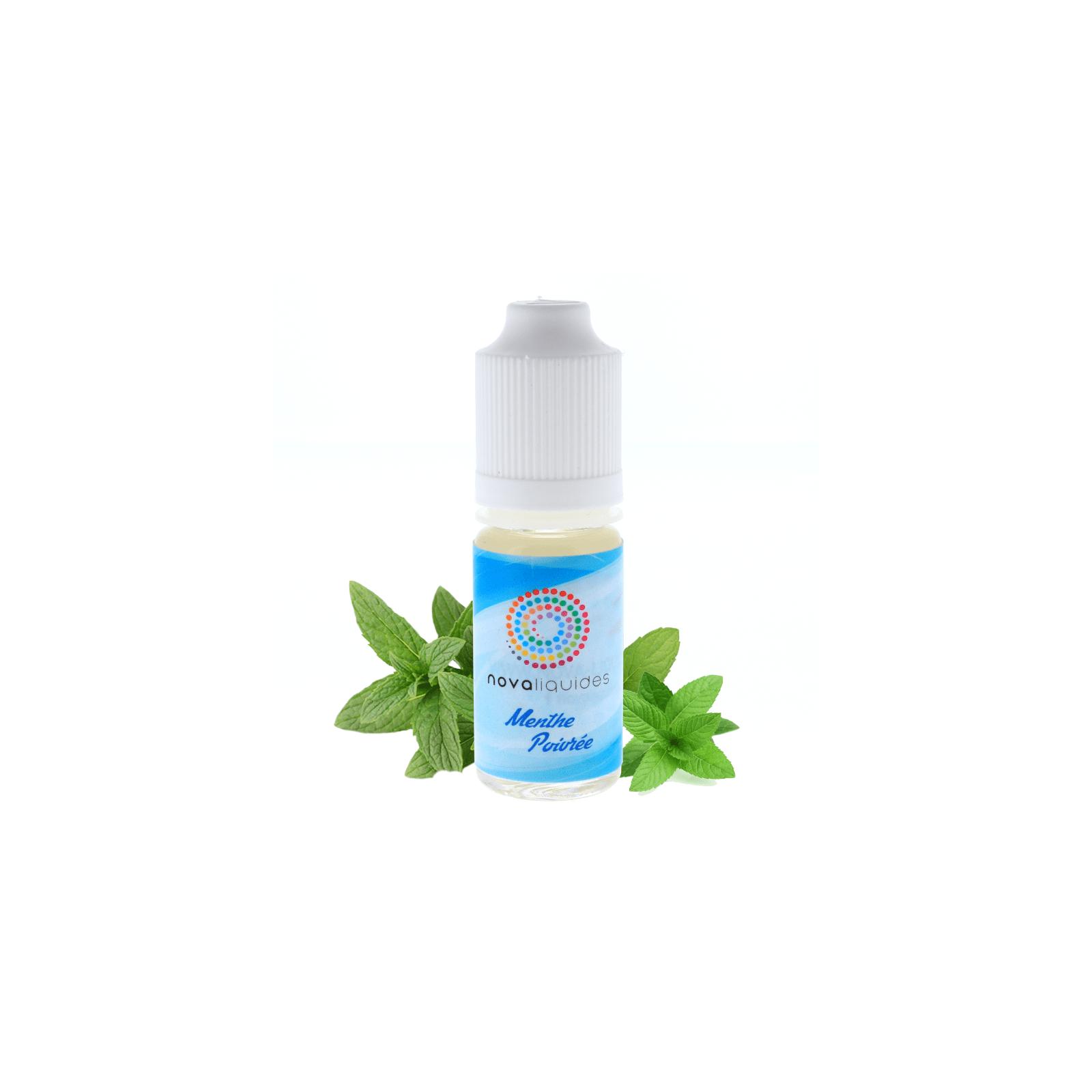 Menthe Poivrée 10ml - Nova Liquides