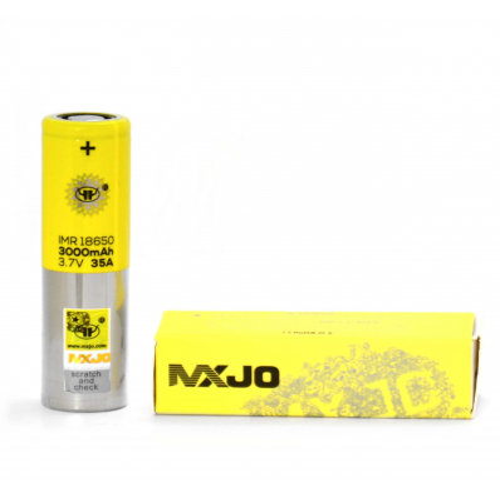 Accu Mxjo 18650 (3000 mah) - MXJO