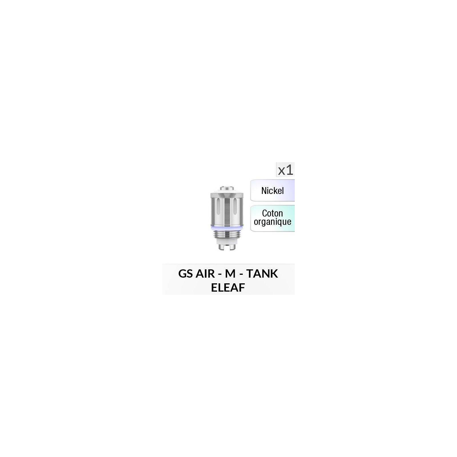 Résistance GS AIR (Ni) - 1 Pièce - ELEAF