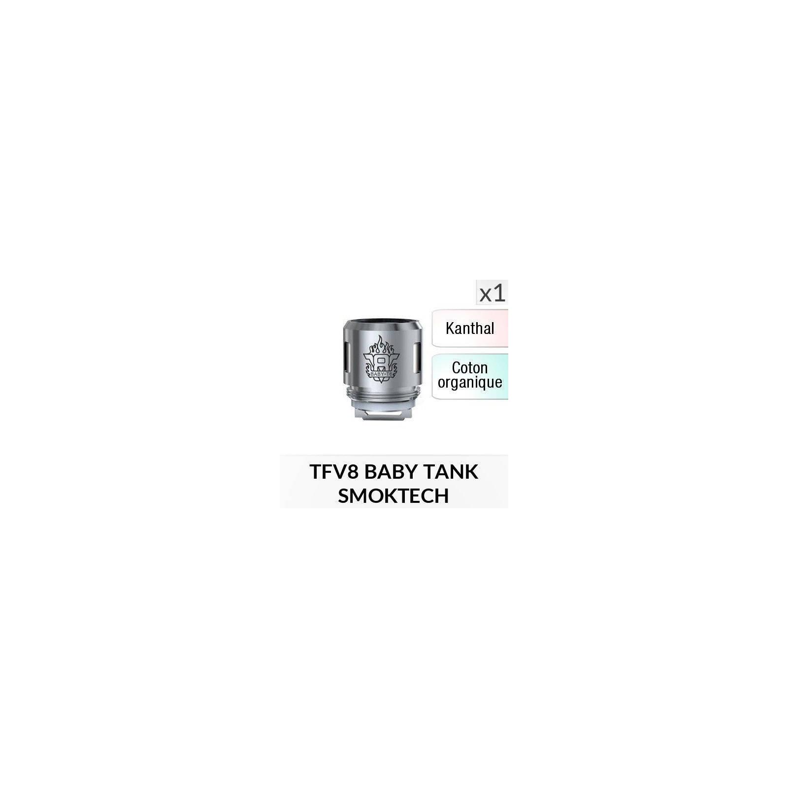 Résistance V8 Baby T6 / 1 Pièce - SMOKTECH