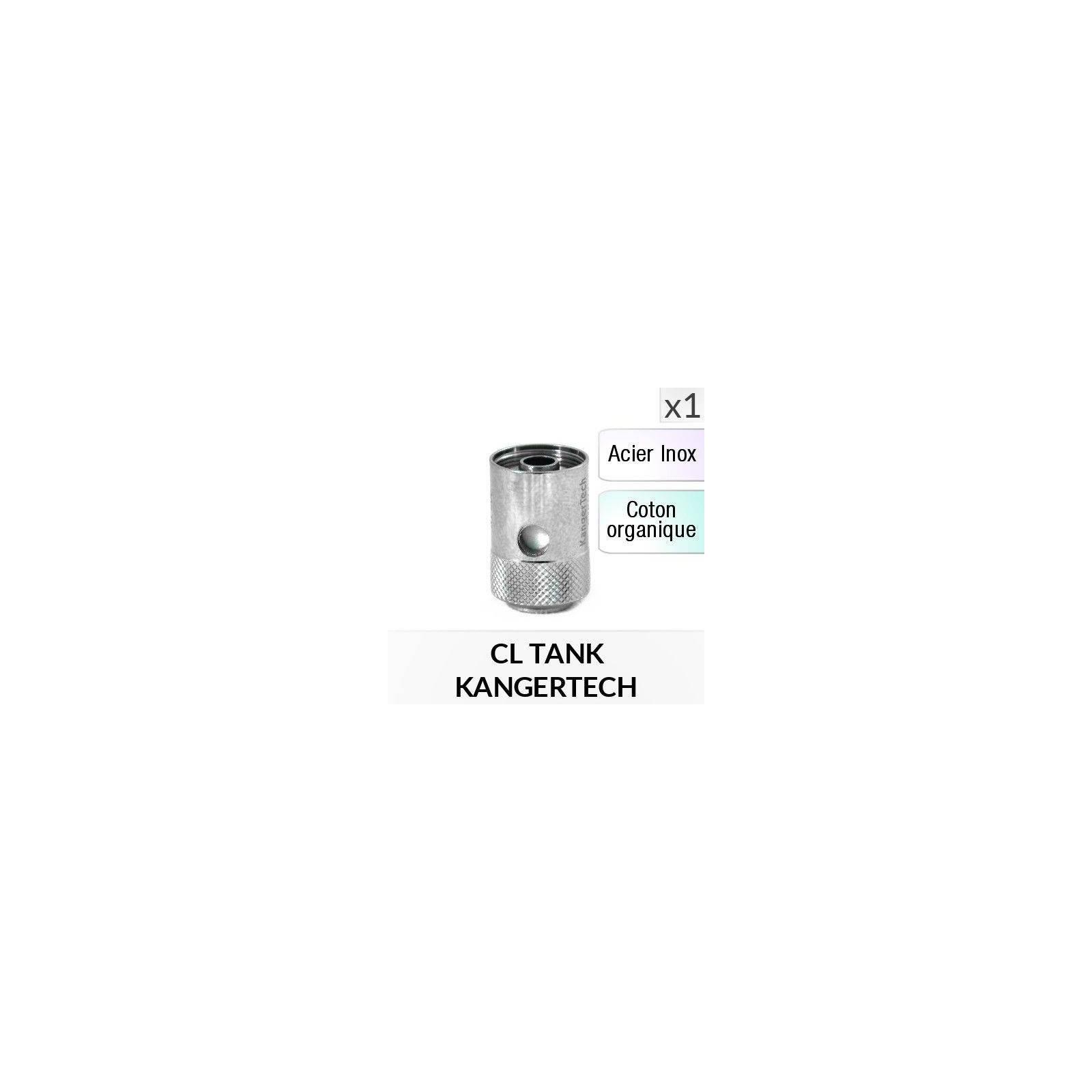 Résistance CLOCC Inox - 1 Pièce - KANGERTECH