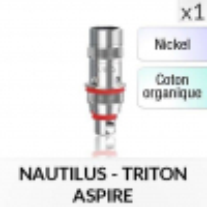 Résistance Nautilus / Triton Nickel - 1 Pièce - ASPIRE