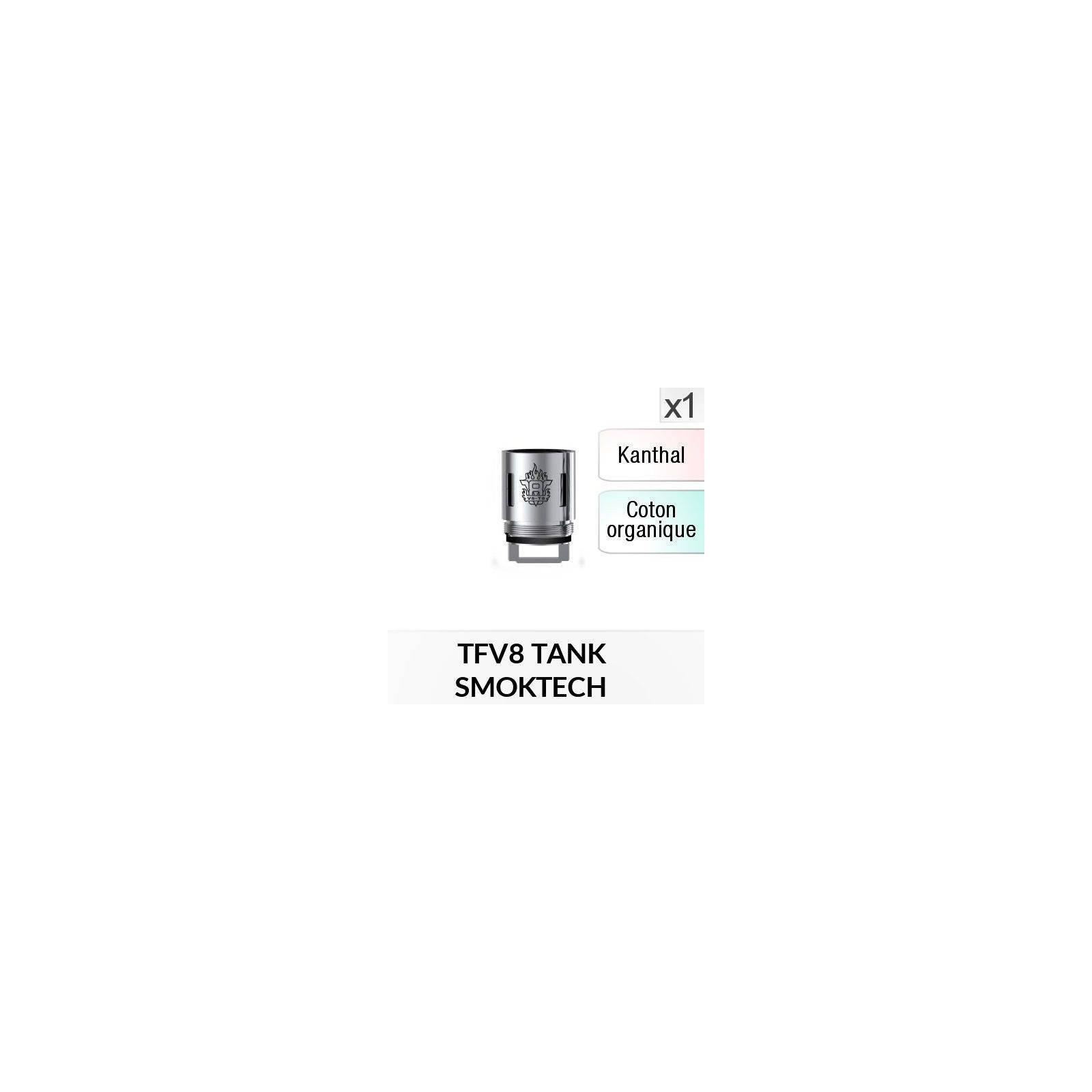 Résistance V8 T8 / 1 Pièce - SMOKTECH