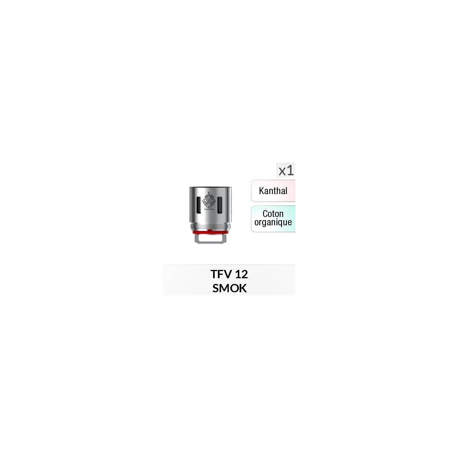 Résistance V12 T12 / 1 Pièce - SMOKTECH