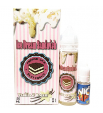 Vanilla & Cream - Ice Dream Sandwich 50 ml