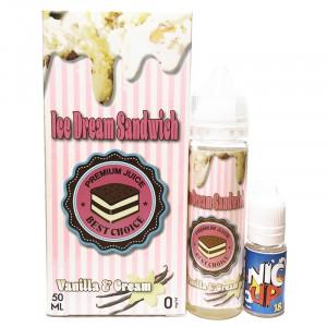 Vanilla & Cream - Ice Dream Sandwich 50 ml