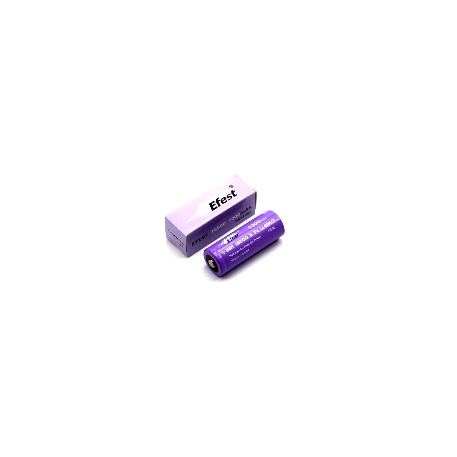 Accu Efest purple 18500 V1 1000 mAh - EFEST