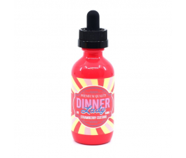 Strawberry Custard - Dinner Lady 50 ml