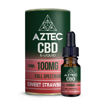 Sweet Strawberry Aztec CBD Full Spectrum