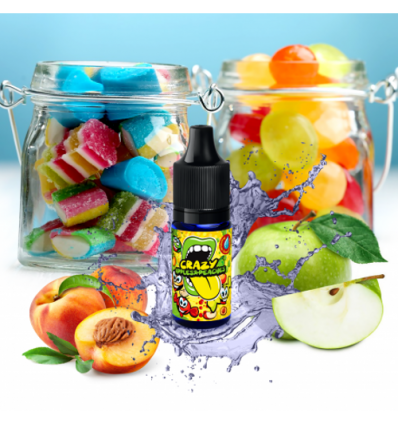 Concentré Crazy Apples & Peaches - Big Mouth Liquids