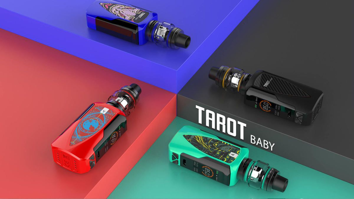 couleurs box électronique tarot nano