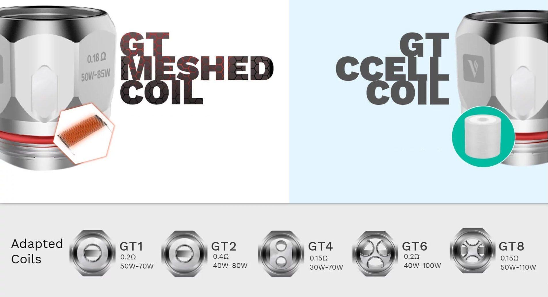 coil GT1 résistance tarot baby